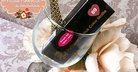 Lipstik Purbasari No 89 potted pinkyrose purbasari matte lipstick no 89 jade review