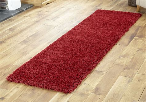 shaggy collection rugs premium quality shaggy collection hallway runner rugs thick 5cm pile ebay