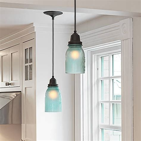 blue pendant lights kitchen kitchen pendant lighting blue roselawnlutheran