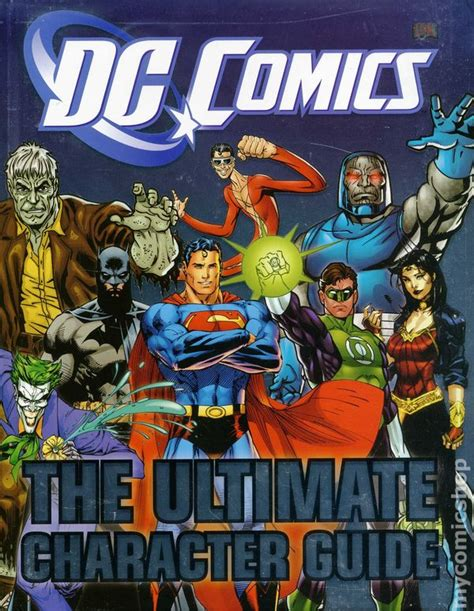 dc comics ultimate character guide dc comics the ultimate character guide hc 2011 dk comic