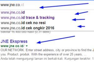 cek resi akurat website jne resmi adalah www jne co id untuk cek resi vs