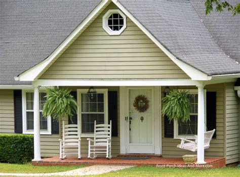 Craftsman Style House Plans One Story by Small Porch Small Front Porch Small Porch Plans