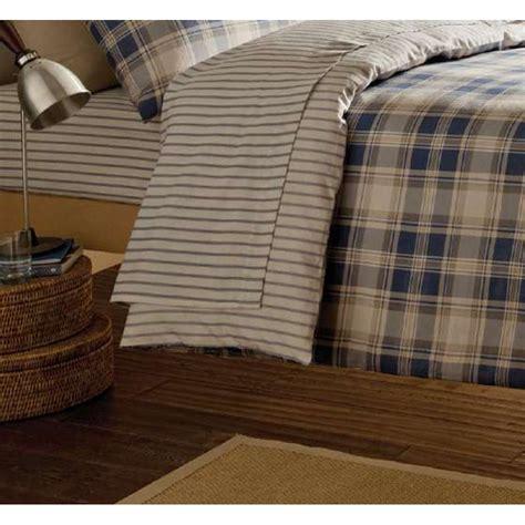 tartan bed linen catherine lansfield tartan navy striped brushed cotton