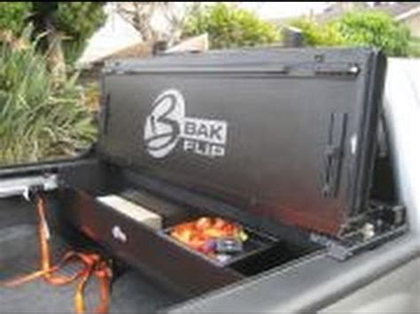 bakbox 2 tonneau tool box truck storage realtruck bak box 2 tonneau tool pickup truck box youtube