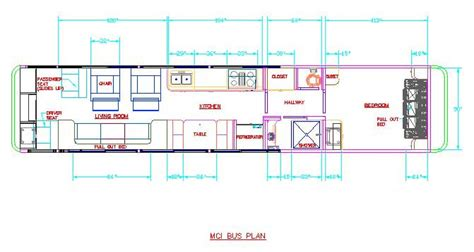 bus motorhome floor plans bus conversion floorplans find house plans
