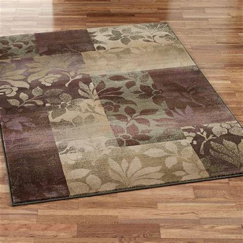 impression leaf area rugs leaf collage round area rugs