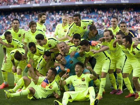 Calendrier Liga Barcelona But De Messi Contre L Atl 233 Tico Madrid Qui Offre Le Titre