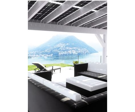 veranda fotovoltaica solarwatt veranda system pensilina fotovoltaica solar