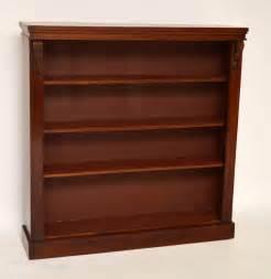 antique mahogany open bookcase antiques atlas