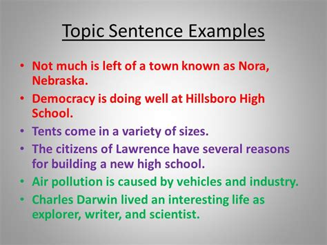 how to write a topic sentence for a research paper mastering apache