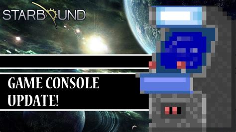 Mod Game Update | starbound mods game console update youtube