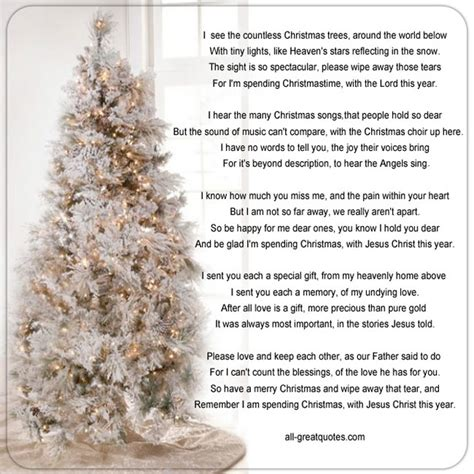 christmas with jesus this year memorial cards for i see the countless trees around the world below