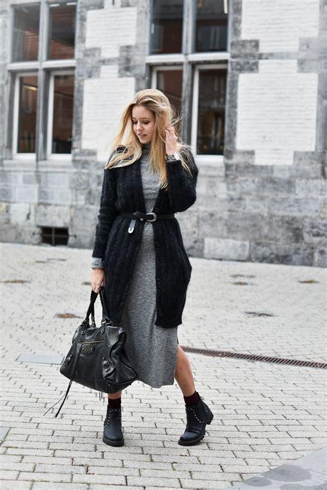 Porter Robe Hiver - robe longue c 244 tel 233 e et gilet oversize comment porter en