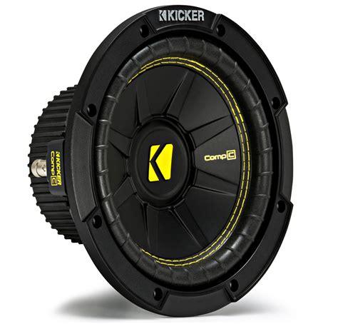 kicker cws car audio compc subwoofer single  ohm