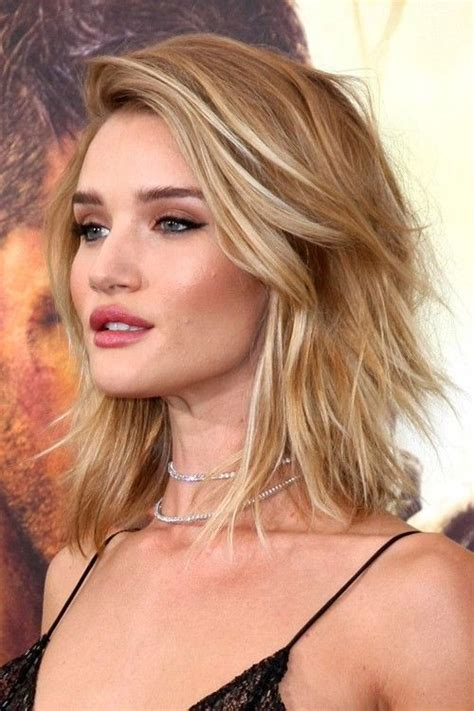 pictures of short light brown hair rosie huntington whiteley long bob bobs and google