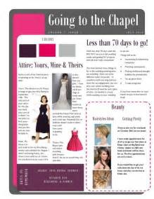 bridesmaid newsletter template bridesmaid newsletter i weddingbee photo gallery