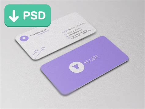 Business Cards Templates Psd by 55 Best Psd Business Card Templates Designbump