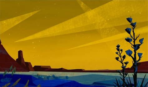 animation backgrounds home on the range デザイン