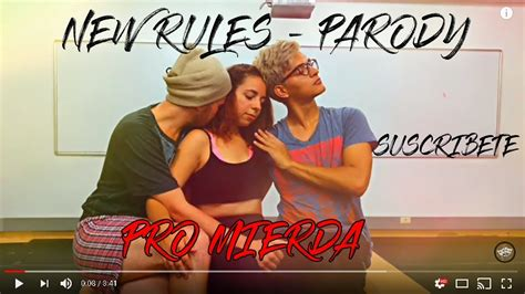 dua lipa parody dua lipa quot new rules quot parody theater video colombia youtube