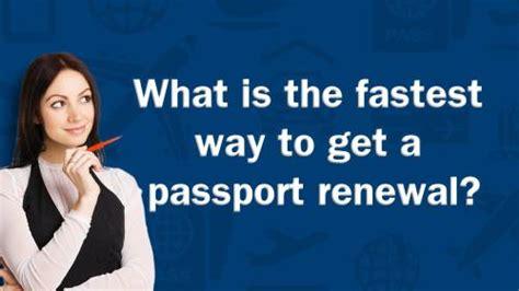 how to renew passport in renew passport