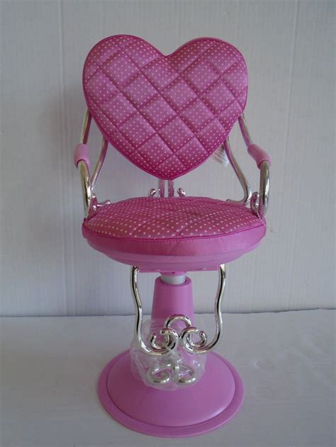 American Doll Salon Chair by Pink Battat Salon Adjustable 18 Quot Chair For American