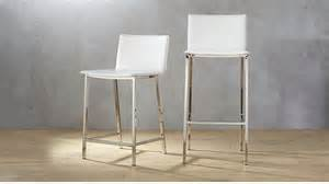 phoenix ivory bar stools cb2