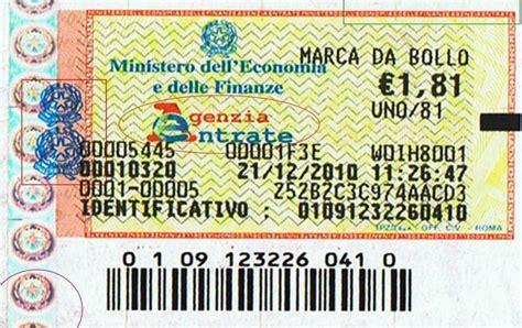 codice fiscale ministero dell interno riscossione sanzioni e imposta di bollo chiarimenti