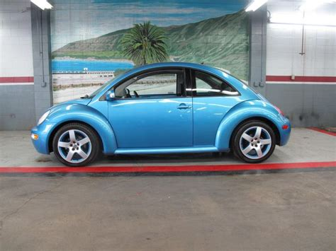 volkswagen  beetle coupe satellite blue
