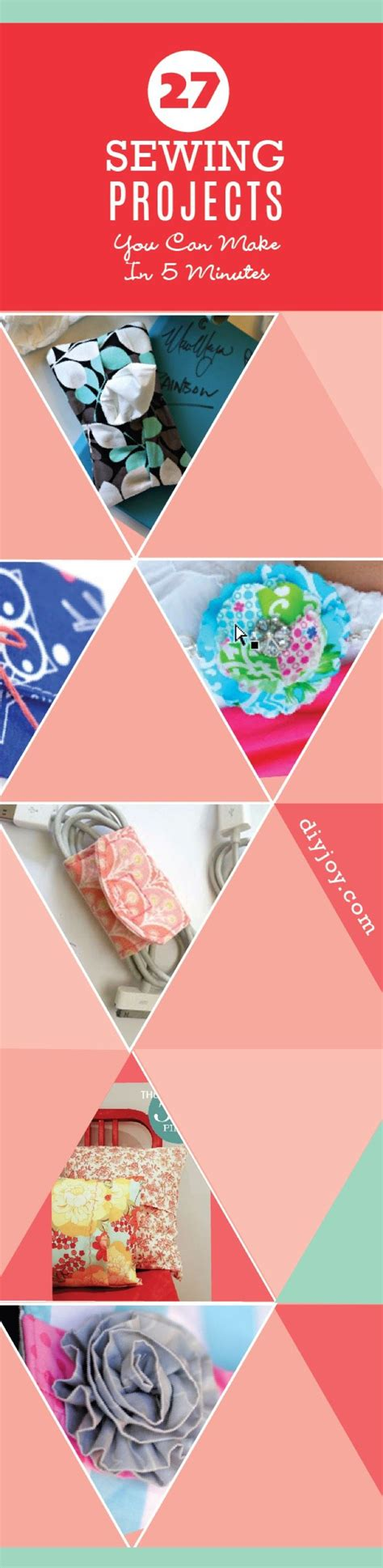 fast crafts for sewing projects easy sewing projects ideas