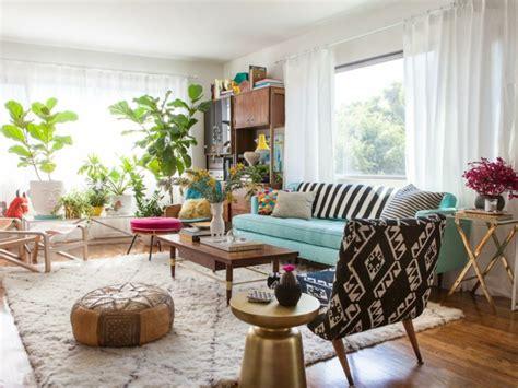apartment mit 1 schlafzimmer dekorieren ideen wohnung einrichten ideen wohnzimmer deko pflanzen