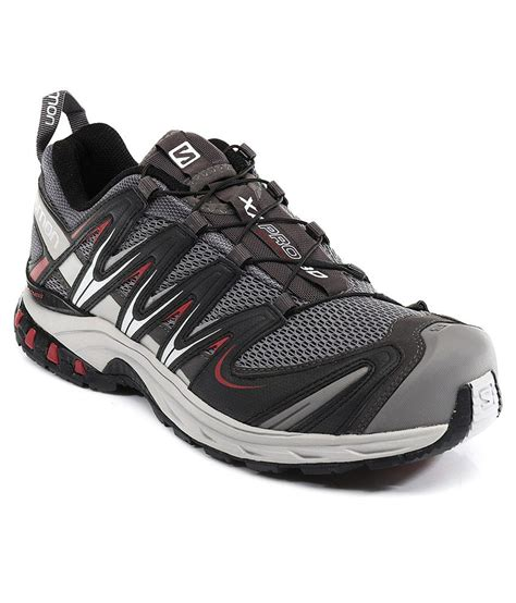 pro sport shoes salomon xa pro 3d gray sport shoes price in india buy