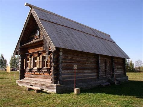 russian home izba wikipedia