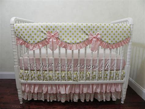 Gold Crib Bedding Sets Baby Crib Bedding Set Carissa Pink And Gold Baby