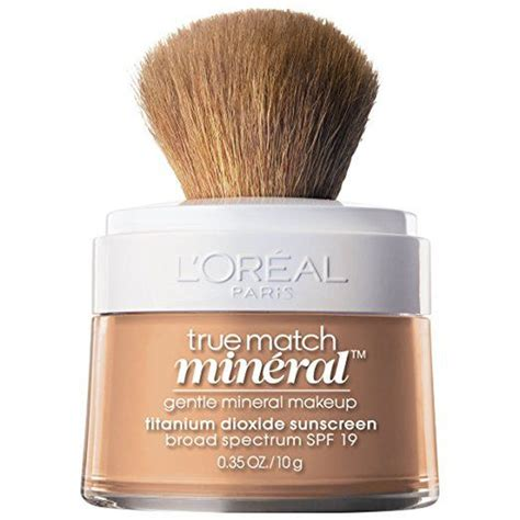 Loreal True Match Powder Foundation l oreal true match mineral foundation rank style