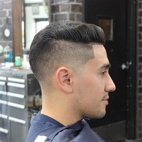 side shaved hair round face 60 versatile men s hairstyles and haircuts