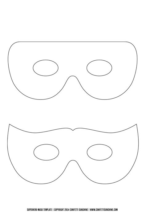 supergirl mask template mask template pictures to pin on