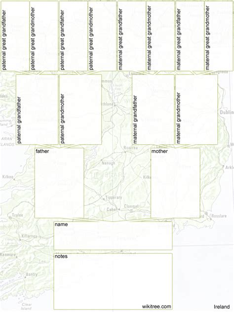 printable blank family tree layout 7 best images of free printable family tree printable
