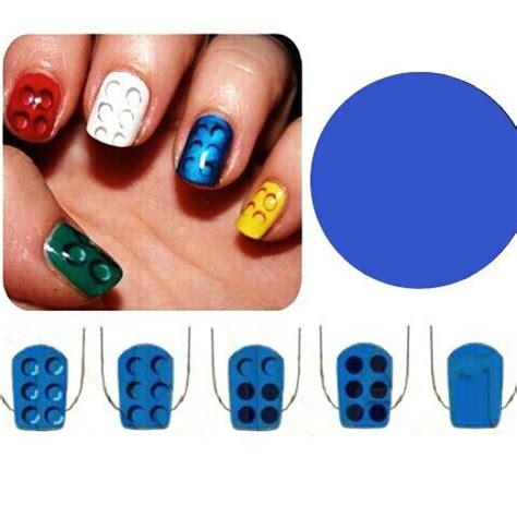 lego nails tutorial 94 best hairstyles images on pinterest lego nails