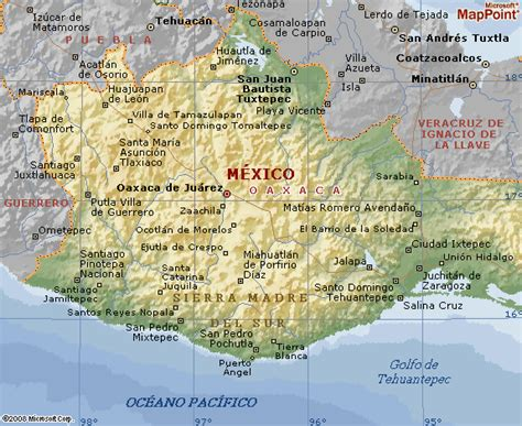 mapa de oaxaca mexico oaxaca pictures posters news and videos on your