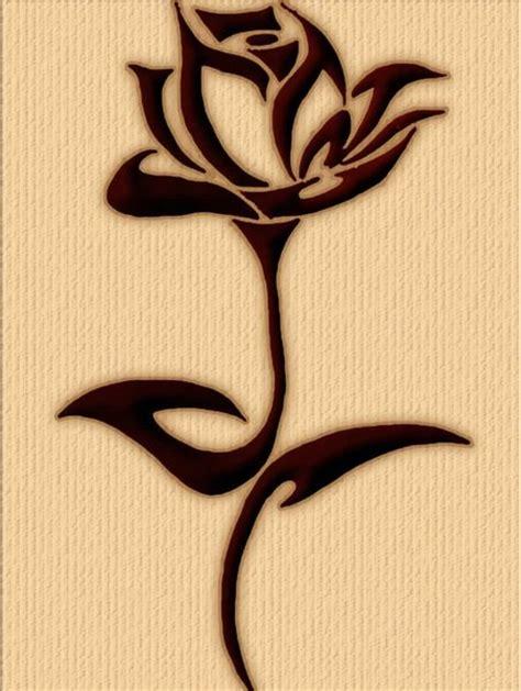 tattoo bunga mawar free tatto triball mawar download free clip art free