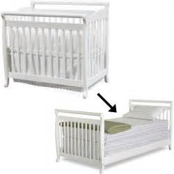 Crib Bed Rail Davinci Emily Mini Convertible Wood W Size Bed Rail White Baby Crib Set Ebay