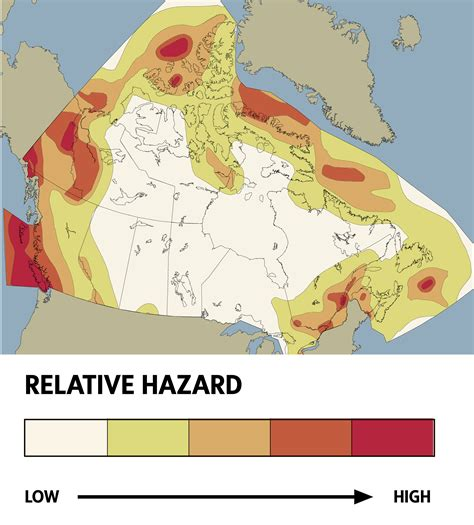 earthquake zones in canada how a massive quake would shake canada s financial system