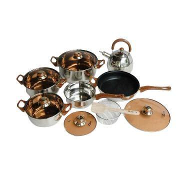 Oxone Ox 933 Eco Cookware Set jual oxone ox 933 eco cookware set peralatan masak 14 pcs harga kualitas terjamin