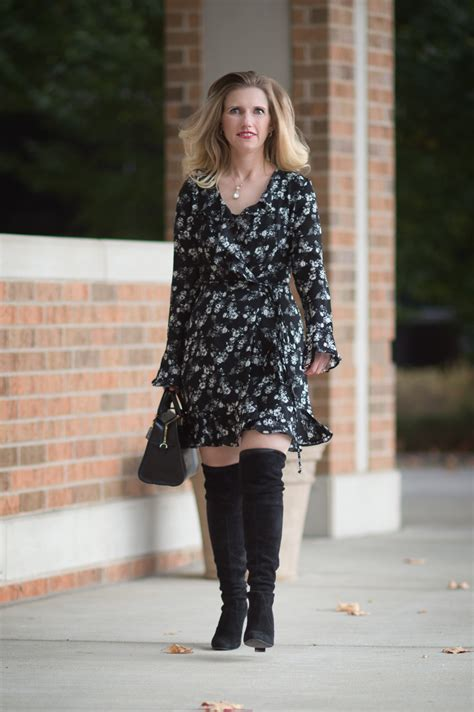 8 Ways To Wear Florals In Winter by 8 Inspiring Ways To Wear Dresses In The Winter And Stay