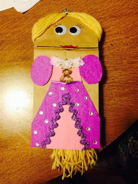 Puppet With Paper Bag - 19 best paper bag princess images on brown