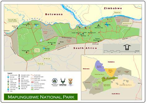 mapungubwe national park map mapungubwe national park