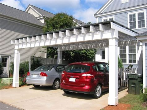 Parking Garage Arbor by 25 Best Ideas About Pergola Carport On