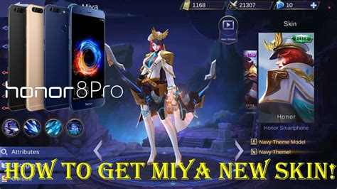 codashop mobile legend skin mobile legends how to get the new miya skin honor8pro