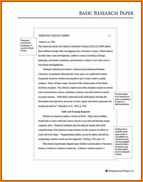 Apa Style Essay Sle Paper research paper apa 6th edition format