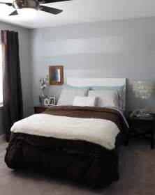Accent Wall Bedroom by Tone On Tone Striped Accent Wall Mrs The Misc
